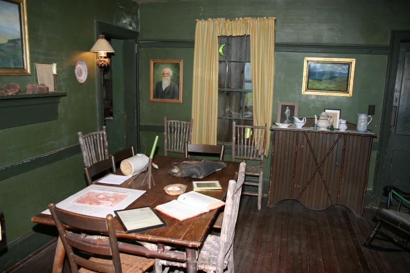 John Burrough's home