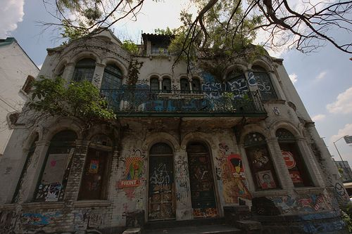 Abandoned House in Mexico City