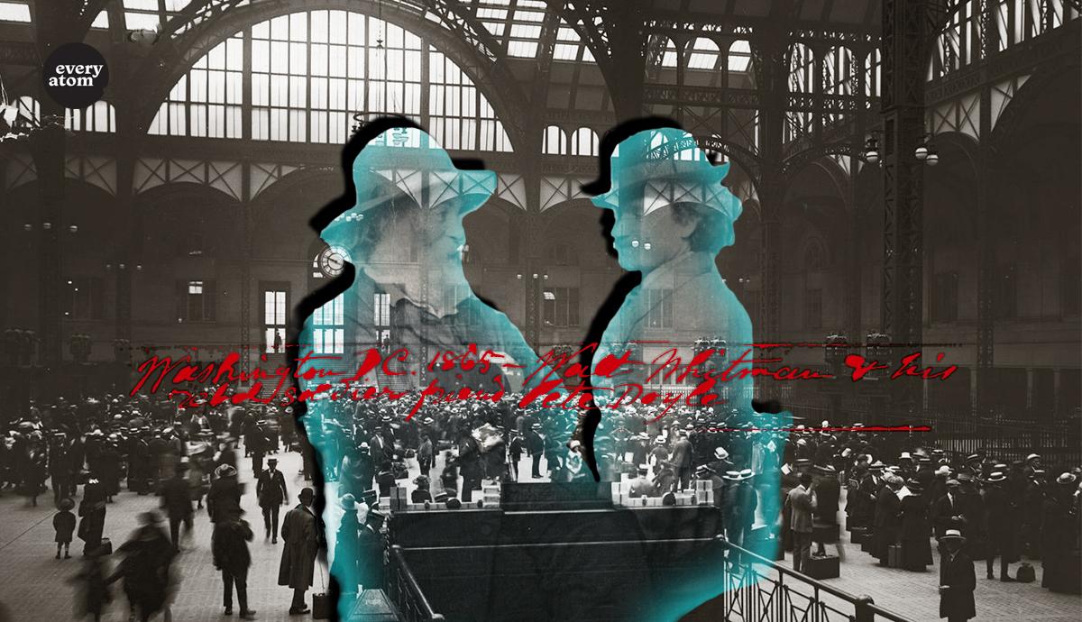 Walt Whitman, Peter Doyle, and Penn Station