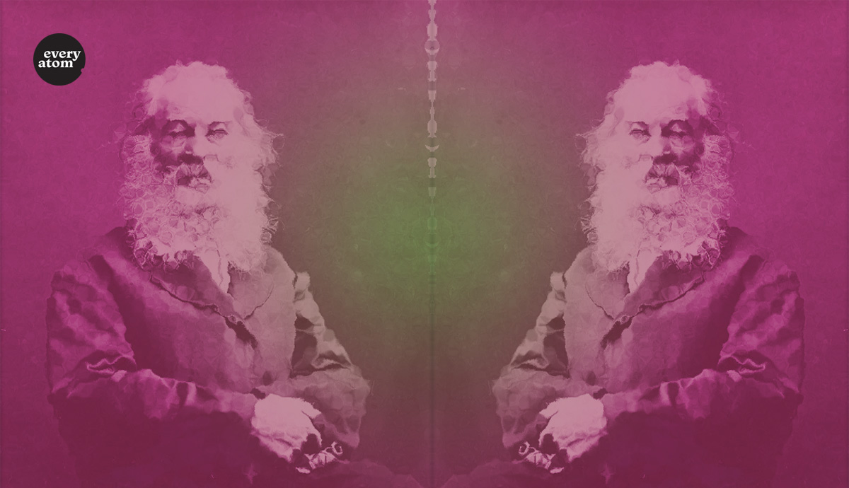 Mirror images of Whitman by G. Frank Pearsall