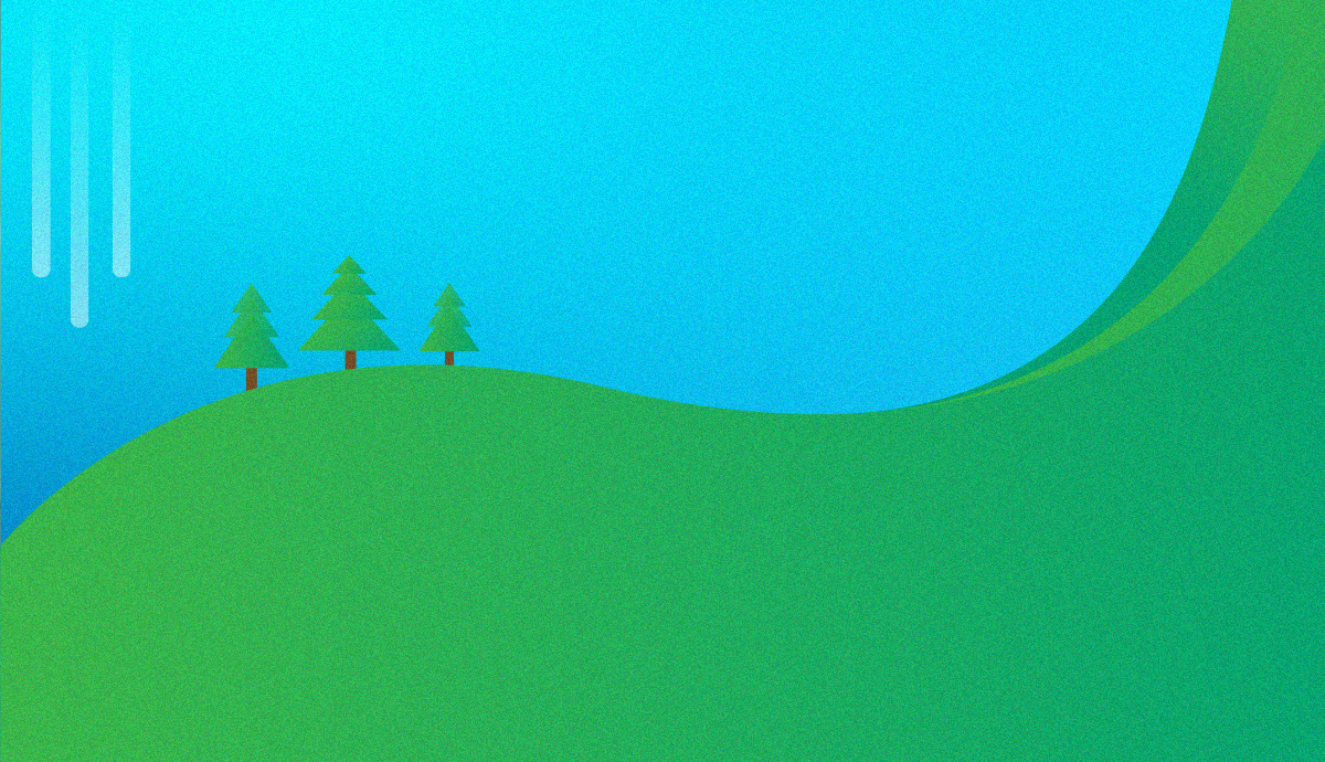 a simplistic hill
