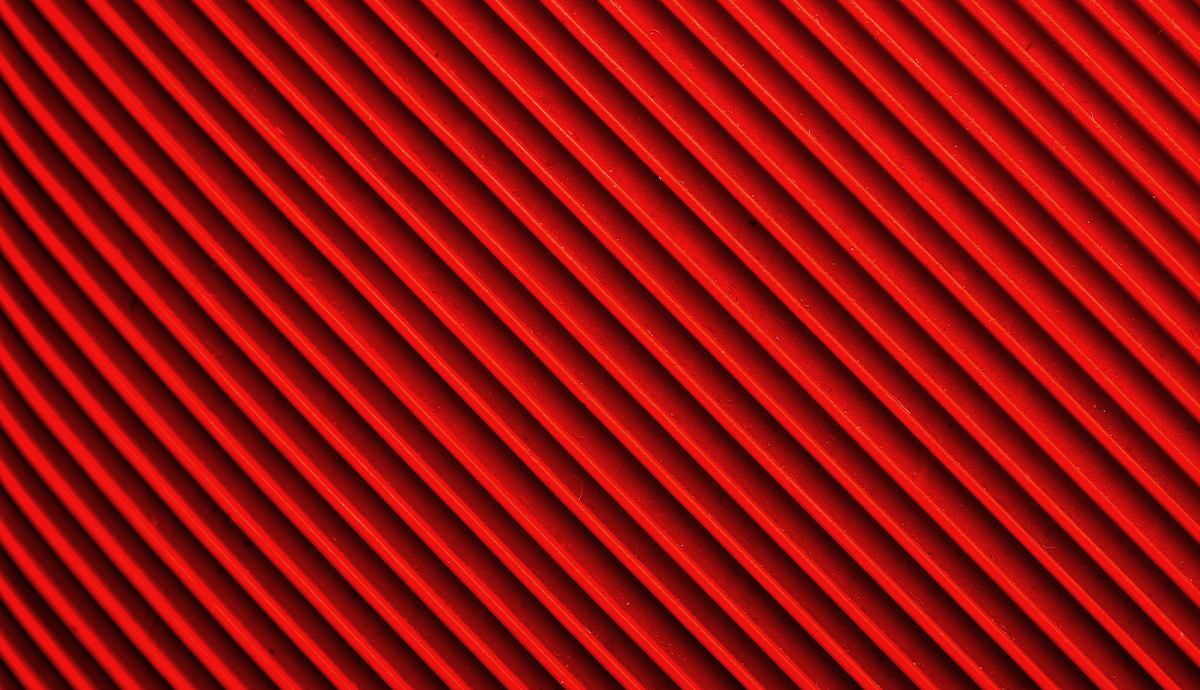 red and black diagonal stripes