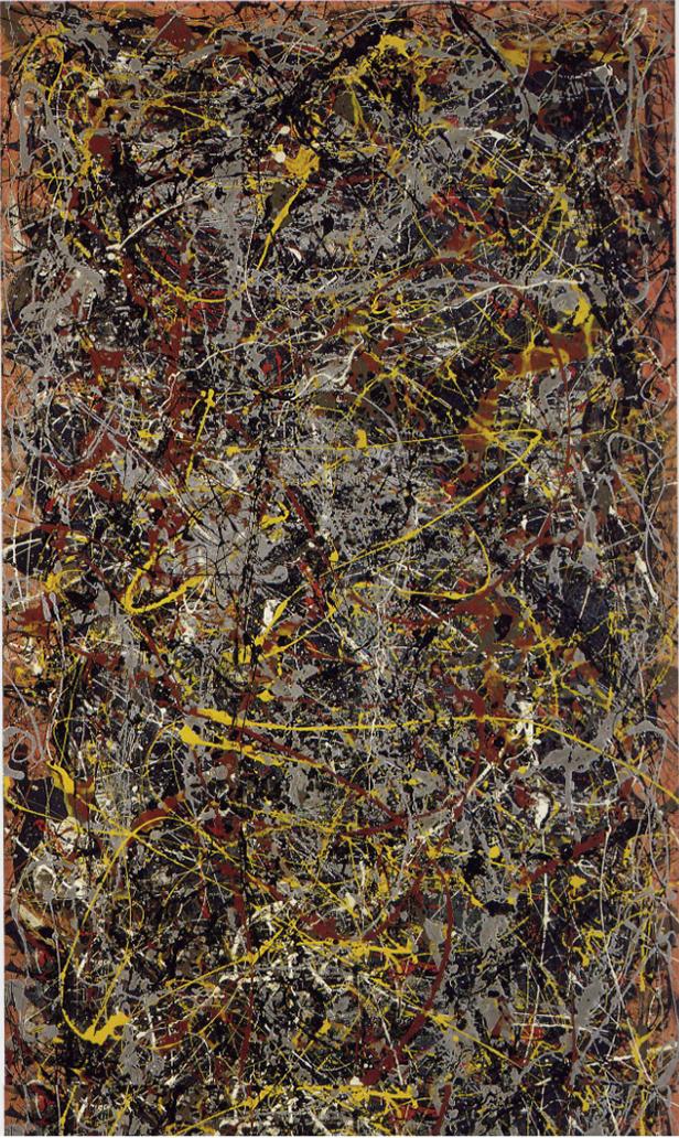 Jackson Pollock, Number Five, 1948
