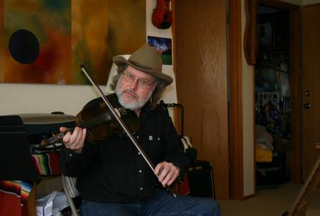 Rich Ives playing