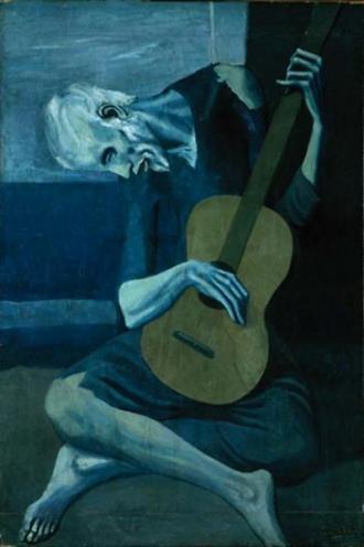 The Old Guitarist, 1903 - Pablo Picasso