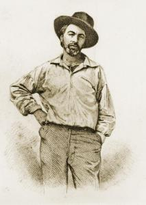 Frontispiece of Whitman