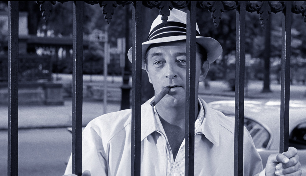 Robert Mitchum in Cape Fear, 1962