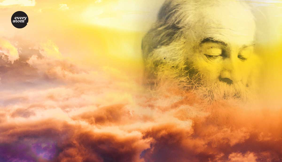 Whitman's Head in the clouds