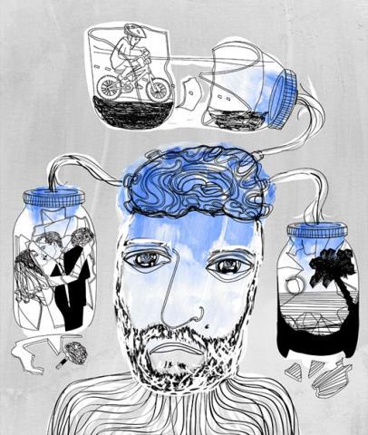 Alzheimers Disease Illustration