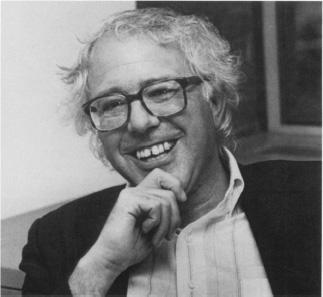 Bernie Sanders, Black & White Photo