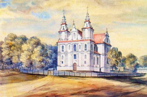 Catholic Church in Fascauka Belarus