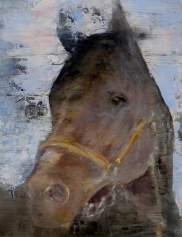 horse painting by anne-marie brown