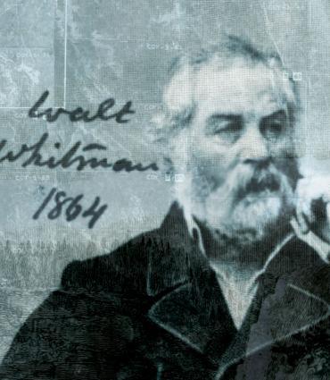 Old photo of Whitman
