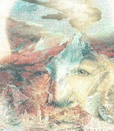 mountainscape of Whitman