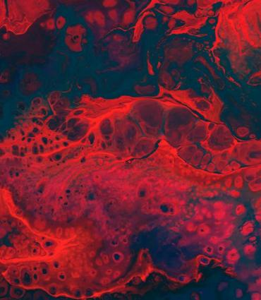 Abstract image of bloodvessel