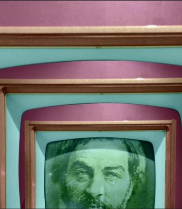 Whitman in a tv set in a tv set in a tv set
