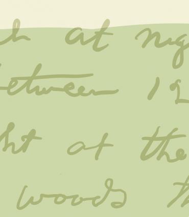 Whitman's handwriting