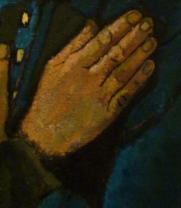 Paula Modersohn-Becker's painting Old Peasant Woman
