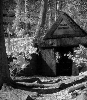 Whitman's tomb