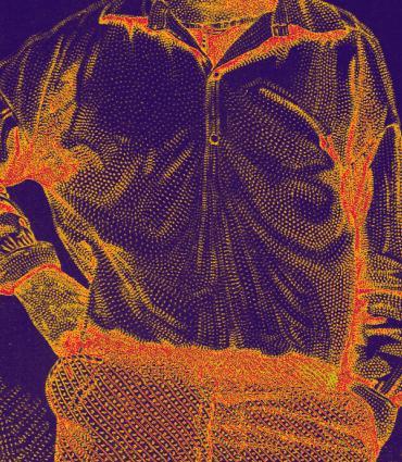 Whitman's psychedelic torso