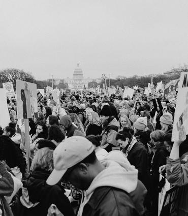 Whitman at the Washington Women's March