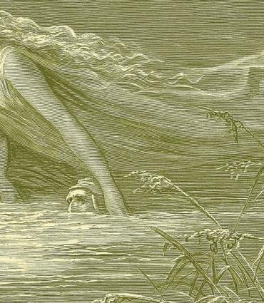 Illustration of Dante's Inferno showing the River Lethe