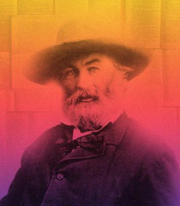 Whitman in a vibrant gradient