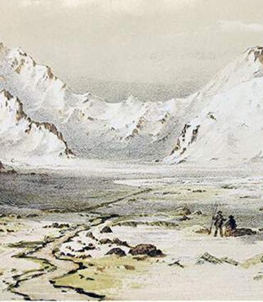 bookish mountainscape