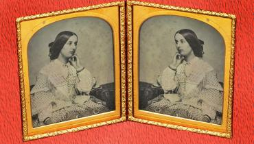 Double picture of Fanny Brawne