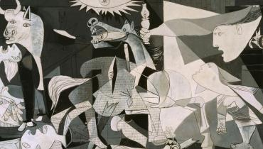 Guernica painting by Picasso