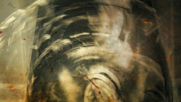 Abstract image of a woman