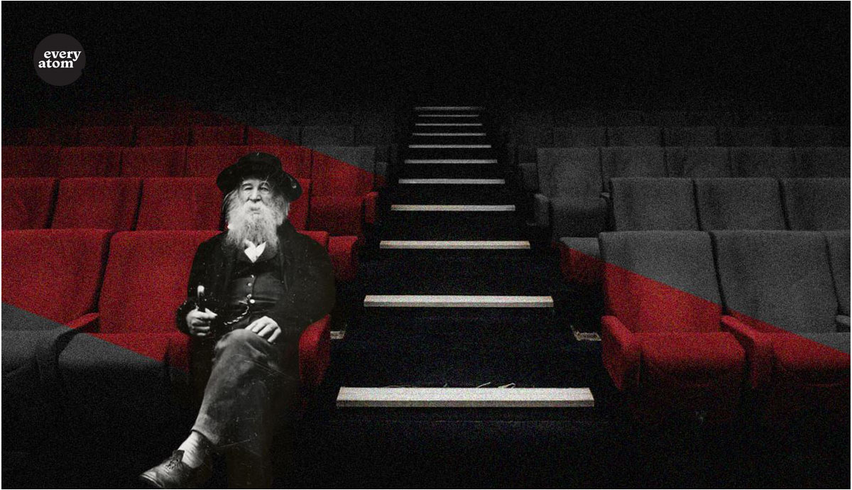 Whitman in a theater